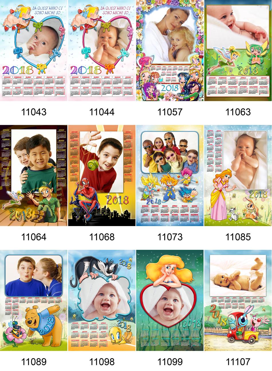 Calendario Per Bambini.Digitalkrome It Stampa E Crea Fotocalendario 2018 Tema